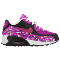 Nike Air Max 90 - Girls' Preschool - Purple / Black