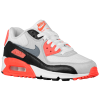 Nike Air Max 90  - Boys' Grade School - White / Grey