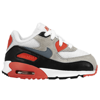 Nike Air Max 90 - Boys' Toddler - White / Grey