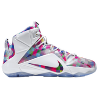 Nike LeBron XII Ext - Men's -  LeBron James - White / Pink