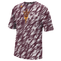 adidas College Shockenergy Sideline T-Shirt - Men's - Arizona State Sun Devils - Maroon / Gold