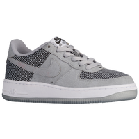 Nike Air Force 1 Low - Boys' Grade School - Grey / Black