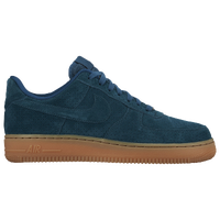 Nike Air Force 1 07 - Women's - Navy / Tan