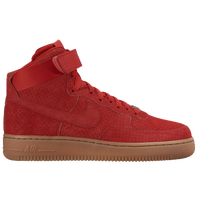 Nike Air Force 1 High - Women's - Red / Brown