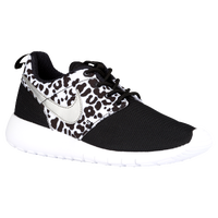 Nike Roshe One - Girls' Preschool - Black / Silver