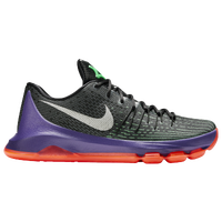 Nike KD VIII - Men's -  Kevin Durant - Black / Light Green