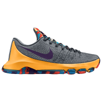 Nike KD VIII - Men's -  Kevin Durant - Grey / Purple