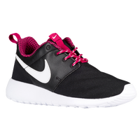 Nike Roshe One - Girls' Preschool - Black / White