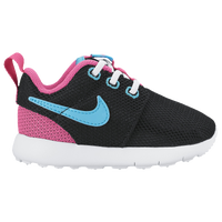 Nike Roshe One - Girls' Toddler - Black / Pink