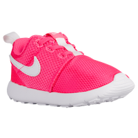 Nike Roshe One - Girls' Toddler - Pink / White