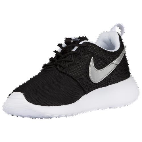 wzkoz Nike Roshe One - Boys\' Preschool - Running - Shoes - Black/White