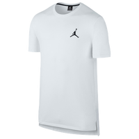 Jordan Core Short Sleeve Long Top - Men's - All White / White