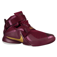 Nike Zoom Soldier IX - Men's -  LeBron James - Maroon / Gold