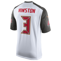 Nike NFL Game Day Jersey - Men's -  Jameis Winston - Tampa Bay Buccaneers - White / Red