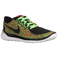 Nike Free 5.0 2015 - Women's - Light Green / Orange