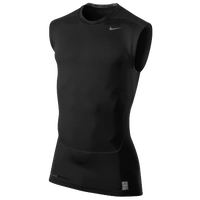 Nike Pro Combat Core Compression SLVLS Top 2.0 - Men's - Black / Black