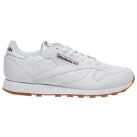 Reebok Classic Leather - Men's - All White / White