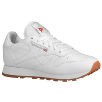 Reebok Classic Leather - Women's - White / Tan