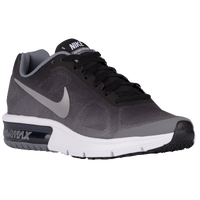 Nike Air Max Sequent - Boys' Grade School - Black / Silver