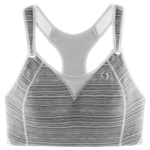 Moving Comfort Rebound Racer Sport Bra - Women's - Sterling Jacquard