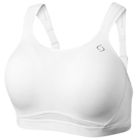 Moving Comfort Maia Sport Bra - Women's - All White / White
