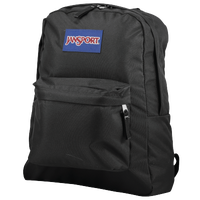 JanSport Super Break BackPack - Black / Blue
