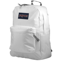 JanSport Super Break BackPack - All White / White