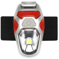 Nathan Orion Strobe Light - Red / Silver