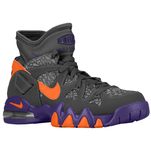 Nike Air Max 2 Strong - Men's - Barkley, Charles - Dark Grey/Court Purple/Electro Orange