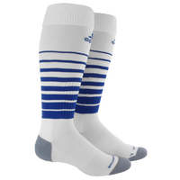adidas Team Speed Soccer Sock - White / Blue