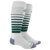 adidas Team Speed Soccer Sock - White / Dark Green