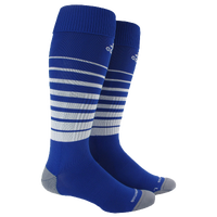 adidas Team Speed Soccer Sock - Blue / White