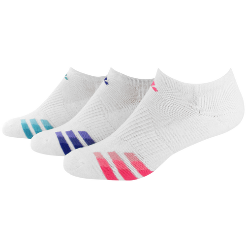 adidas Variegrated 3 Pack No Show Socks