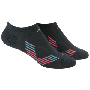 adidas Climacool X II 2 Pack No Show Socks - Women's - Onix/Frozen Blue/Light Flash Red/Clear Onix