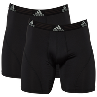 adidas Boxer Brief - Men's - All Black / Black