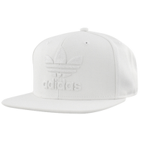 adidas Originals Thrasher Chain Snapback Structured Cap - Men's - All White / White
