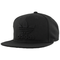 adidas Originals Thrasher Chain Snapback Structured Cap - Men's - All Black / Black