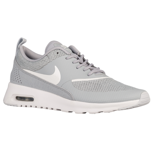 nike air max thea women 39 s running shoes silver white. Black Bedroom Furniture Sets. Home Design Ideas