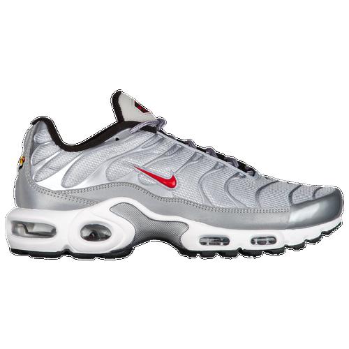 ... Nike Air Max Plus - Womens - Running - Shoes - SilverRedBlac ...