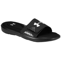 Under Armour Ignite IV Slide - Men's - Black / White