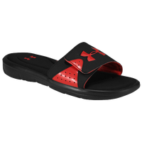 Under Armour Ignite IV Slide - Men's - Black / Red