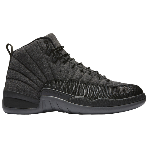 Jordan Retro 12 - Men\u0026#39;s - Basketball - Shoes - Dark Grey/Metallic Silver/Black
