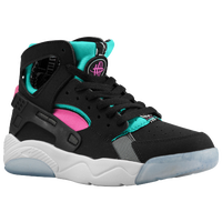 Nike Flight Huarache - Boys' Grade School - Black / Pink
