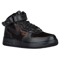 Nike Air Force 1 '07 Mid Prem - Women's - Black / Brown