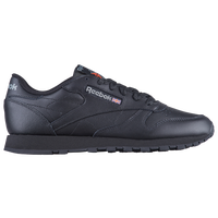 Reebok Classic Leather - Women's - All Black / Black