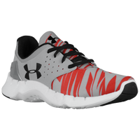 Under Armour Flow Run - Boys' Grade School - Grey / Red