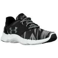 Under Armour Flow Run - Boys' Preschool - Black / White