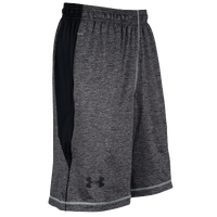 Under Armour Heatgear Raid Shorts - Men's - Grey / Black