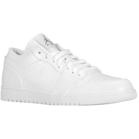 Jordan AJ 1 Low - Men's - White / White