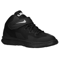 Nike Soldier VIII - Boys' Preschool -  Lebron James - Black / Silver